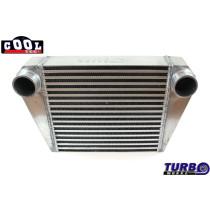 Intercooler TurboWorks 350x300x76 hátsó kivezetéssel